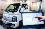 Jízda lehkým užitkovým elektromobilem Hyundai