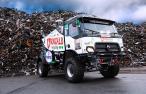 první hybridní rallye kamion na světě