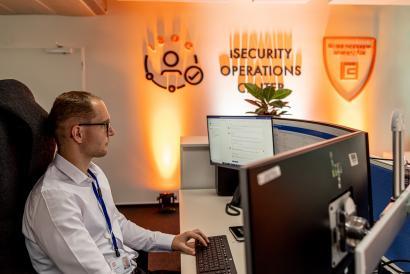 Bezpečnostní dohledové centrum firmy ČEZ