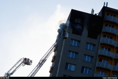 Tragický požár bytu v Bohumíně