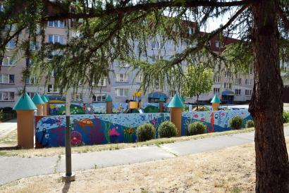 Plochy pro street art Ostrava- Jih