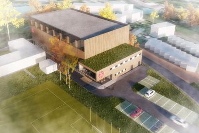 Nová sportovní hala v Třebovicích