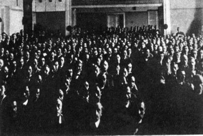 ustavující sjezd KSČ v roce 1921